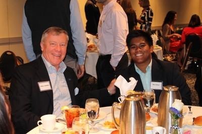 alum mentor Ernie and student.JPG